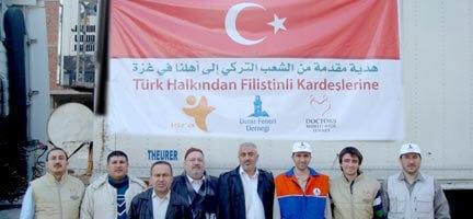 Türk Tıbbi Yardım Konvoyu Rafah'ta