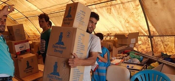 Yardım Tırlarımız Suriye'ye Ulaştı
