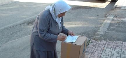 Yardımlarınız Tokat'a Ulaştı