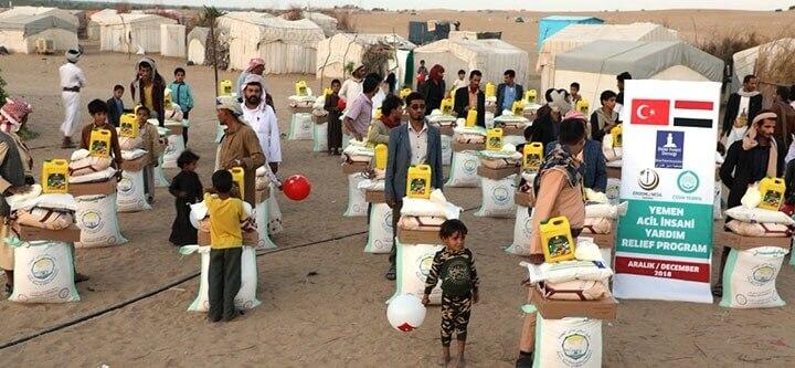 Yemen'e Yardımlarımız Devam Ediyor