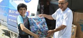 """""""1001 Çocuk 1001 Dilek"""" projesi ile Köyceğiz Akköprü Köyü'nde 37 öğrencinin dileği gerçekleşti"""