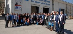 Ak Parti Pursaklar Yönetiminden Ankara Şubemize Ziyaret