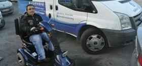 Aracı Parçalanan Engelliye Deniz Feneri Sahip Çıktı