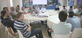 Deniz Feneri Ramazan gönüllüleri kahvaltıda buluştu
