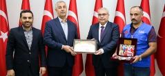 Doğu Anadolu Temsilciliğinden Şehit Ailelerine Ziyaret