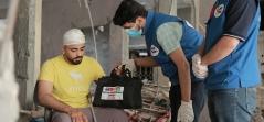 Gazze'nin Yaraları Sarılıyor
