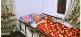 Hasta yatağı ile gelen büyük sevinç
