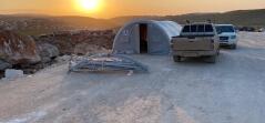 İdlib'te İkinci Etap Briket Evlerin Yapımına Başladık