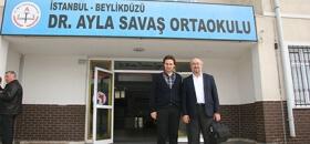 İyilik okulu Dr. Ayla Savaş Ortaokulu'ndaydı
