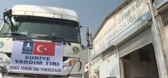 İzmir'den Suriye'ye Yardım Tırı