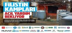 Türkiye'den Filistinli Mültecilere Yardım Kampanyası