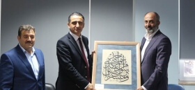 Ümraniye Kaymakamı Suat Dervişoğlu İstanbul Şubemizi Ziyaret Etti