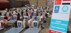 Yemen'de Yardım Faaliyetlerimiz Devam Ediyor