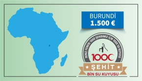 Bin Şehit Bin Su Kuyusu Burundi