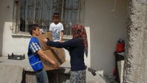 Salgına Karşı Temizlik ve Gıda Yardımı